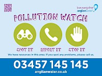 Black Sluice IDB supports Anglian Water's Pollution Watch